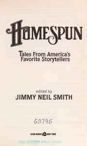 Cover of: Homespun | Jimmy Neil Smith