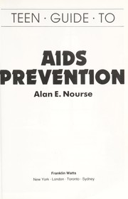 Cover of: Teen guide to AIDS prevention