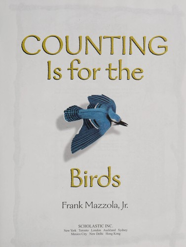 Counting Is For The Birds by