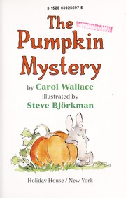 Cover of: The pumpkin mystery