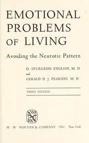 Cover of: Emotional problems of living