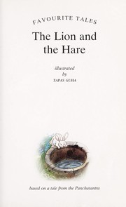 Cover of: The Lion and the hare | Sampurna Chatterjee