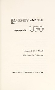 Cover of: Barney and the UFO
