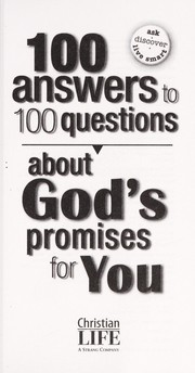 Cover of: 100 answers to 100 questions about God's promises for you | Lila Empson