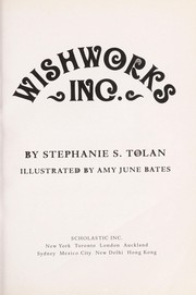 Cover of: Wishworks, Inc