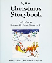 Cover of: My First Christmas Storybook