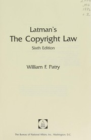 Cover of: Latman