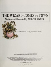 Cover of: The Wizard Comes to Town | Mercer Mayer