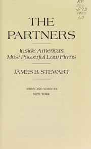 Cover of: The partners