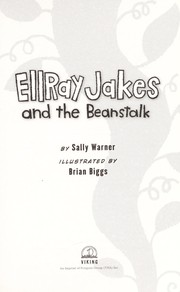 Cover of: EllRay Jakes and the beanstalk | Sally Warner