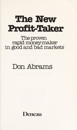 The New Profit Taker by