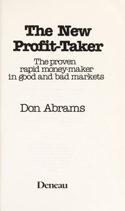 Cover of: The New Profit Taker |