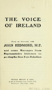 Cover of: The voice of Ireland