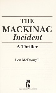 Cover of: The Mackinac incident