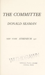 Cover of: The Committee | Donald Seaman