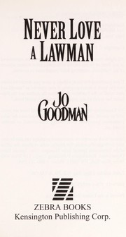 Cover of: Never love a lawman