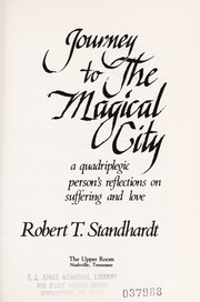 Cover of: Journey to the Magical City | Robert T. Standhardt