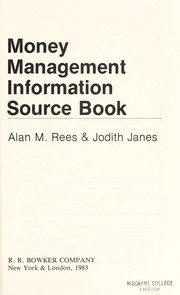 Cover of: Money Management Information Source Book