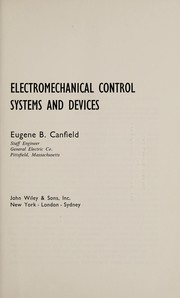 Cover of: Electromechanical control systems and devices