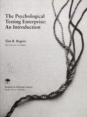 Cover of: The psychological testing enterprise
