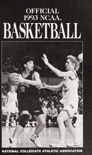 Cover of: Official NCAA Basketball Record and Fact Book, 1993