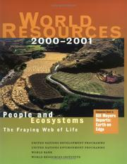 Cover of: World Resources 2000-2001  People and Ecosystems |