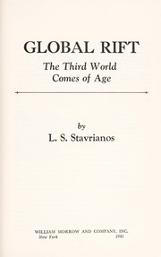 Cover of: Global rift | Leften Stavros Stavrianos