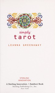 Cover of: Simply tarot | Leanna Greenaway