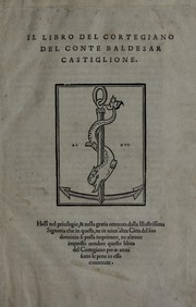 Cover of: Il libro del cortegiano