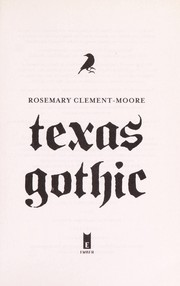 Cover of: Texas gothic