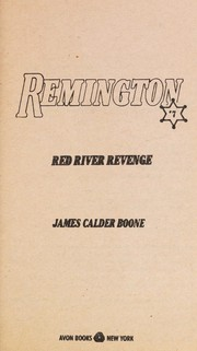 Cover of: Red River Revenge (Remington, No 7)