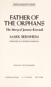 Cover of: Father of the orphans