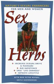 Cover of: Sex Herbs | Beth Ann Petro Roybal