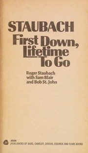 Cover of: First Down, Lifetime to Go