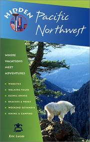 Cover of: Hidden Pacific Northwest | Eric Lucas