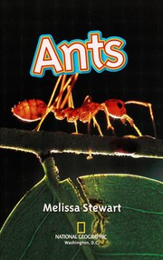 Cover of: Ants! | Melissa Stewart
