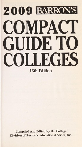 Compact guide to colleges by