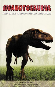 Cover of: Giganotosaurus |