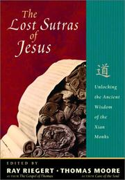 Cover of: The lost sutras of Jesus