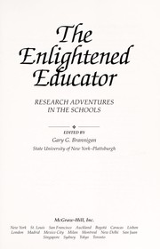 Cover of: The enlightened educator | edited by Gary G. Brannigan.