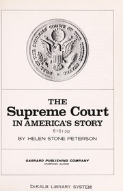 Cover of: The Supreme Court in America