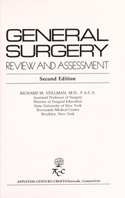 Cover of: General surgery | Richard M. Stillman