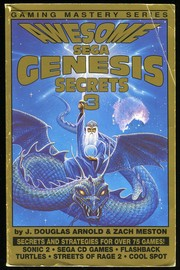 Cover of: Awesome Sega Genesis Secrets 3