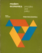 Cover of: Modern economics | Kelvin Lancaster