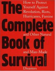 Cover of: The complete book of survival | Rainer Stahlberg