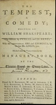 Cover of: The Tempest