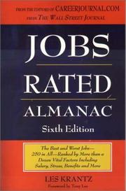 Cover of: Jobs rated almanac