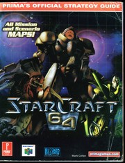 Cover of: StarCraft 64: Prima