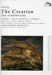 Cover of: The Creation