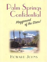 Cover of: Palm Springs confidential | Howard Johns